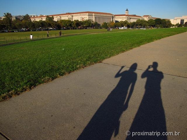 "National Mall - a ""avenida dos museus"" em Washington DC"