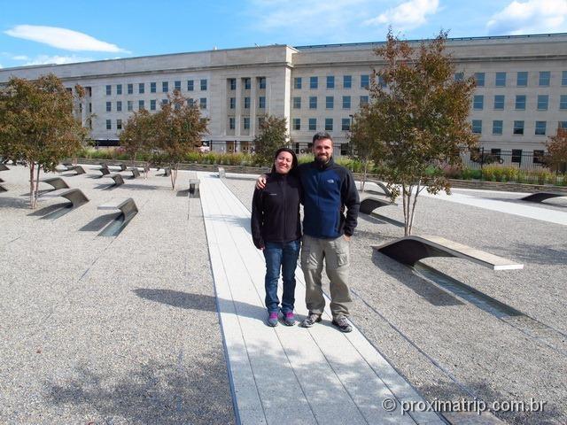 Memorial aos mortos do 11 de setembro no Pentágono - Washington DC