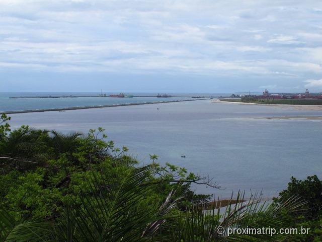 Mirante do Paraíso - vista do Porto de Suape - Cabo de Santo Agostinho