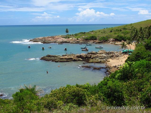 Praia de Calhetas, em forma de coração - Cabo de Santo Agostinho