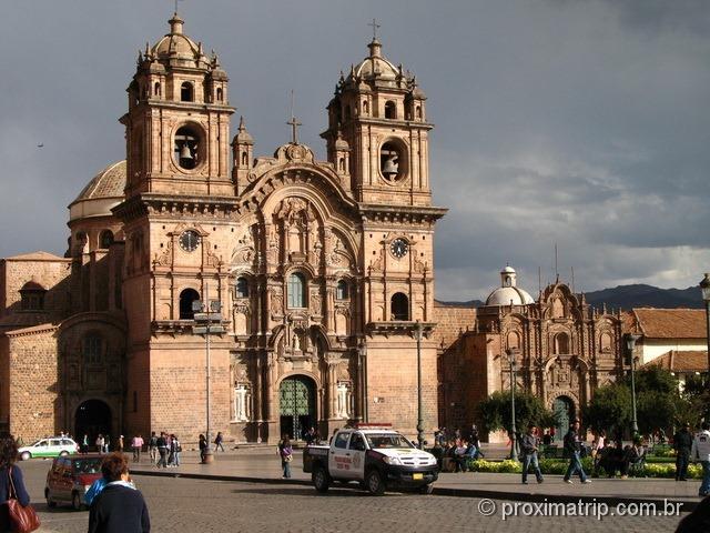 A Igreja da Companhia de Jesus - Cuzco