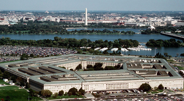 vista aérea Pentágono