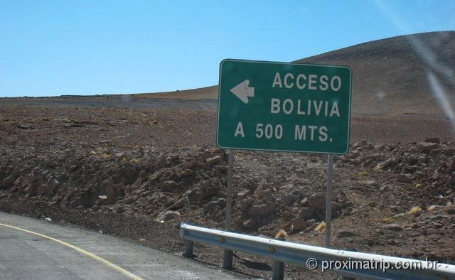RN27 acesso à bolívia