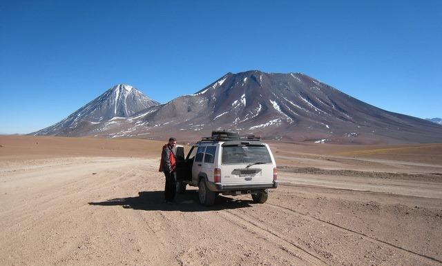 estrada até reserva Nacional Eduardo Avaroa