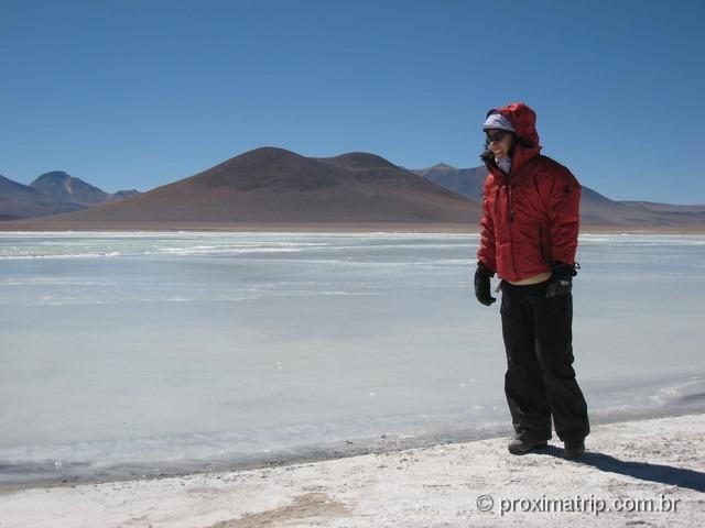 Laguna blanca - Reserva Nacional Eduardo Avaroa - Bolívia