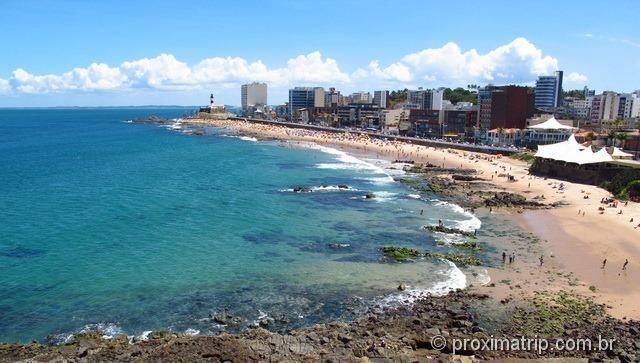praia Barra Salvador Bahia