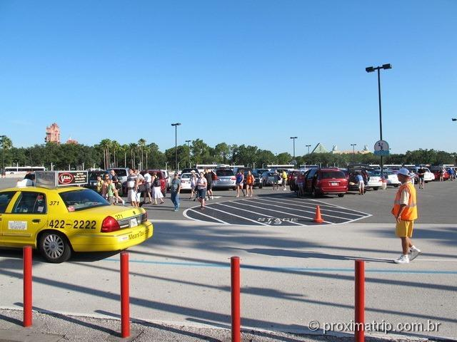 Onde estacionar carro parque Disney hollywood studios - Orlando
