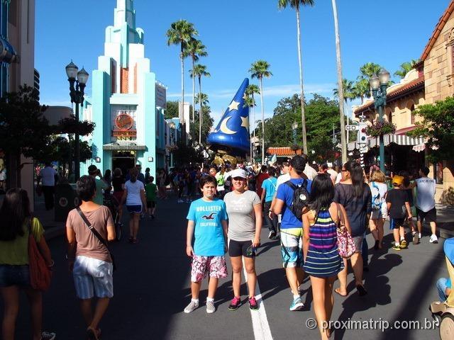 Disney hollywood studios julho - Orlando