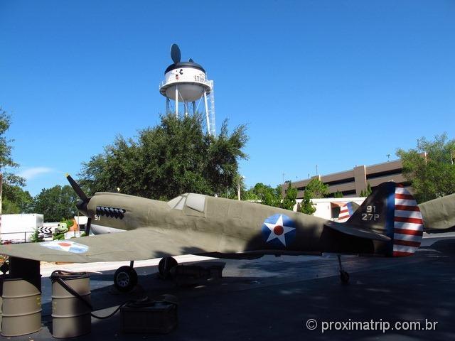 Aviões Studio Backlot Tour - Disney hollywood studios - Orlando