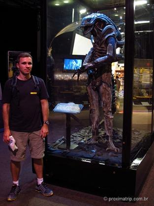 Boneco do Alien no American Film Institute Showcase - Disney hollywood studios - Orlando