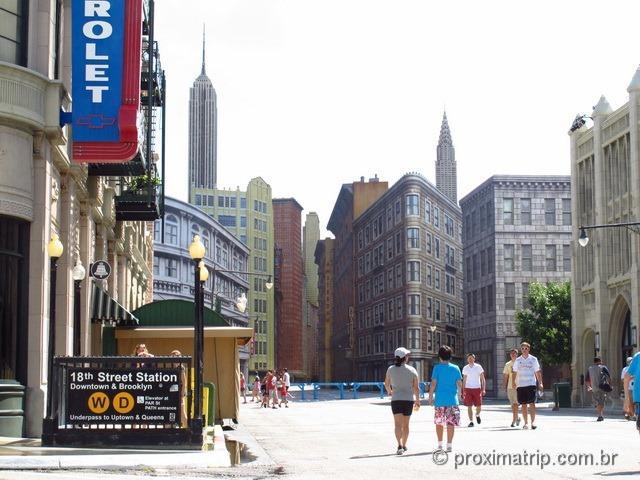 Disney hollywood studios - Cenário streets of america - New York