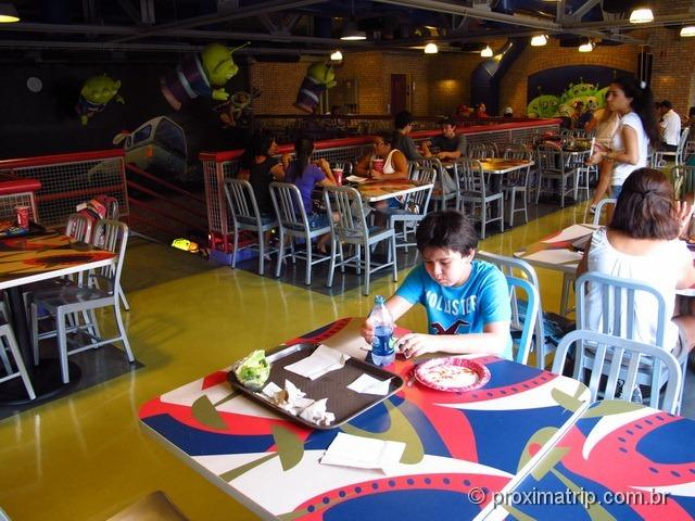Pizza Planet - Disney hollywood studios - Orlando