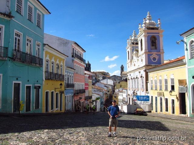 caminhada pelo Centro Histórico - Salvador - Bahia