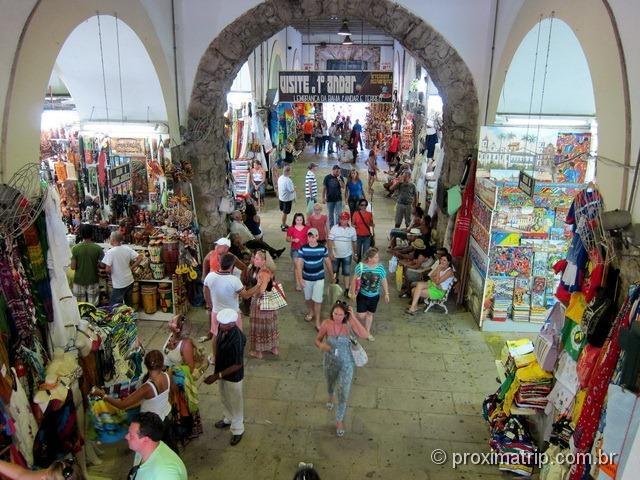Mercado Modelo visto por dentro - Salvador - Bahia