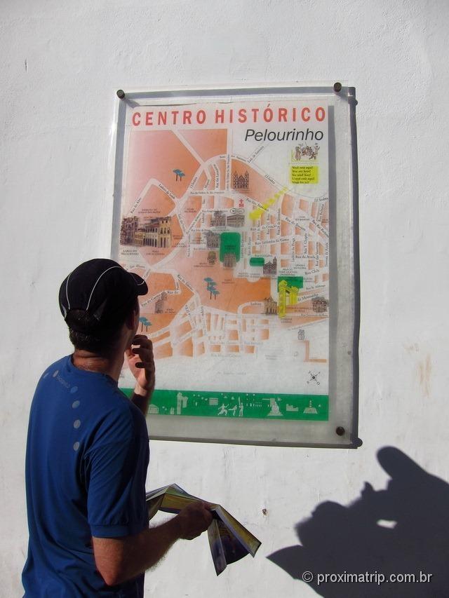Mapa oficial Centro Histórico Pelourinho Salvador Bahia