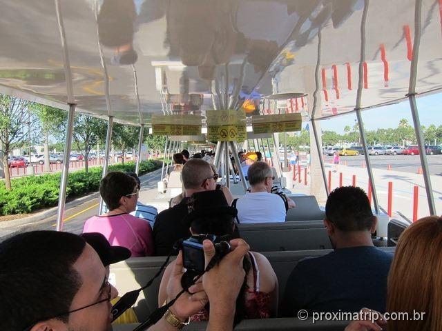 ônibus Estacionamento parque Disney hollywood studios - Orlando