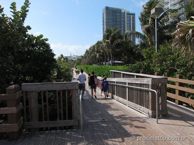Início grande plataforma madeira 23rd street correr caminhar somente