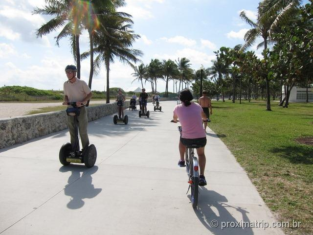Segways em Miami South beach