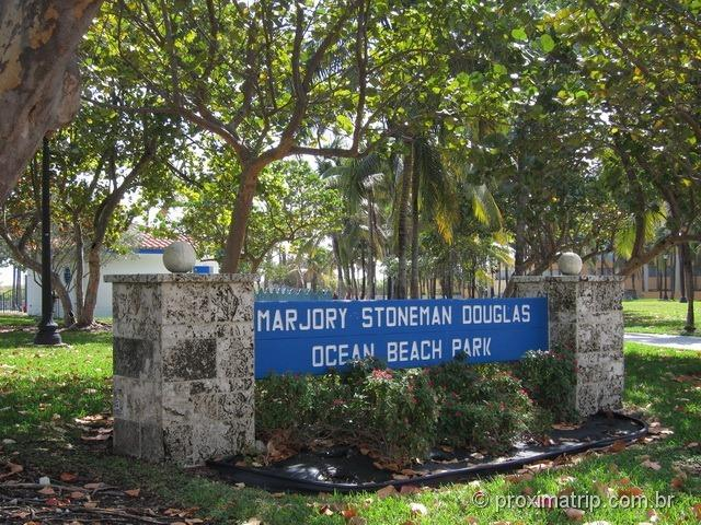 Marjory Stoneman Douglas Ocean Beach Park