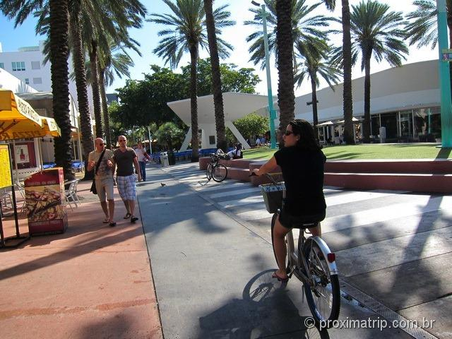 Lincoln Road bicicleta Miami