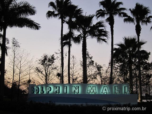 shopping/outlet Dolphin Mall - Miami