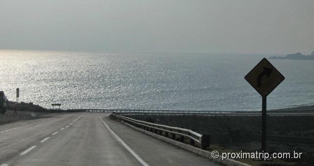 Ruta nacional 5 panamericana Oceano Pacífico trecho Santiago Cópiapó