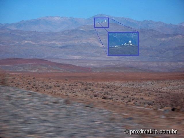 RN5 (Panamericana): Observatórios Astronômicos
