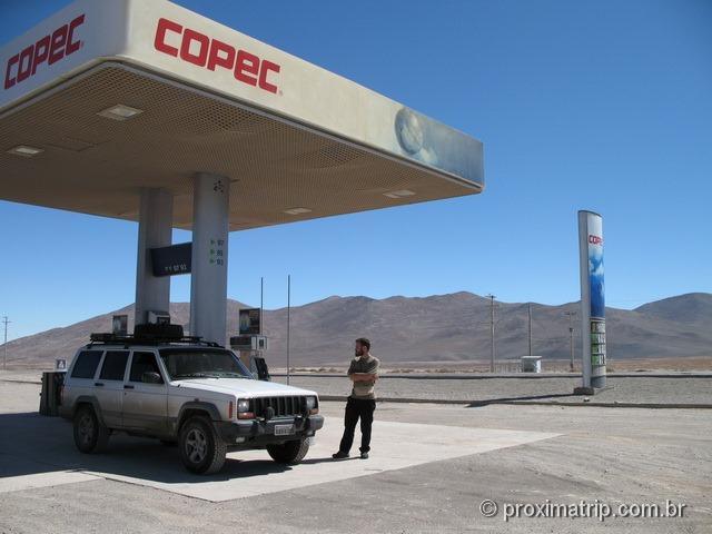 RN5 (Panamericana): Posto COPEC entre Copiapó e Antofagasta