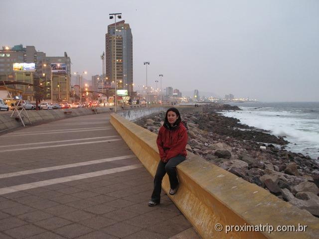 Antofagasta Calçadão avenida Grecia