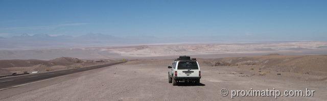 RN23 - Trecho entre Calama e São Pedro de Atacama