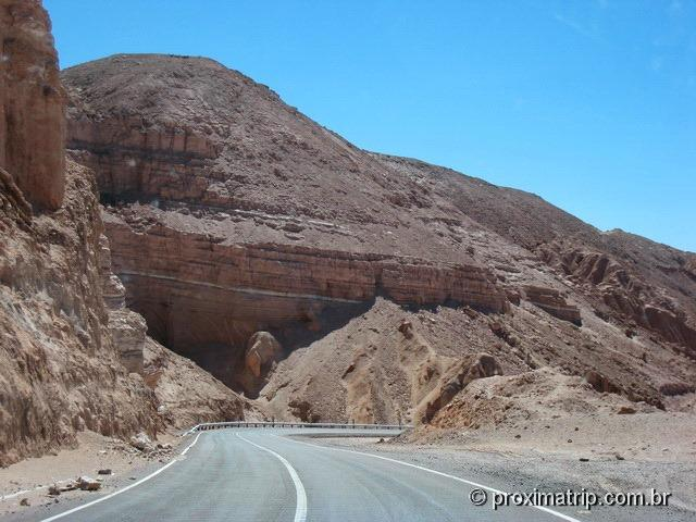 RN23: próximos a São Pedro de Atacama