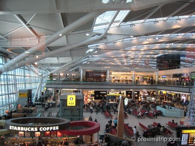 Aeroporto de Heathrow por dentro