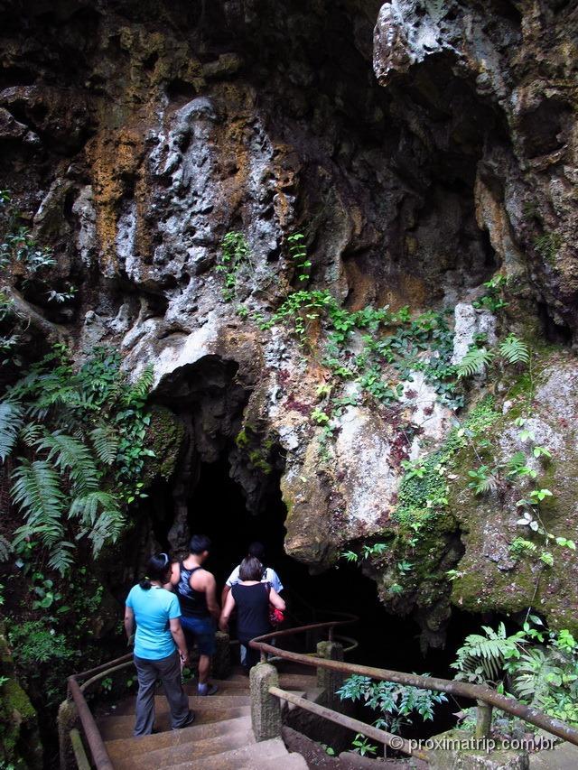 Entrada da Caverna do diabo