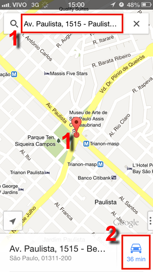 Navegação GPS gratuita iPhone: app Google Maps, prós contras