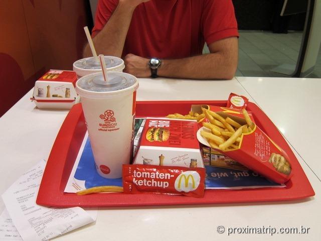 O Big Mac alemão