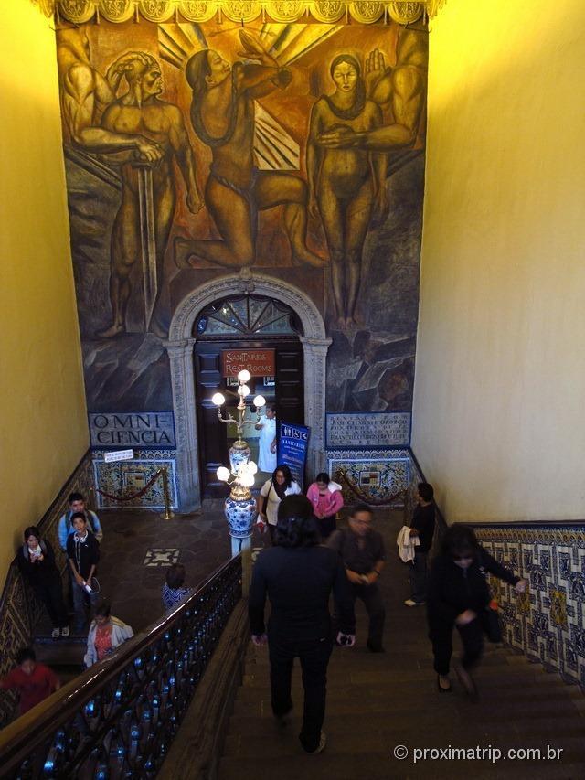 Interior da Casa de los azulejos - Cidade do México