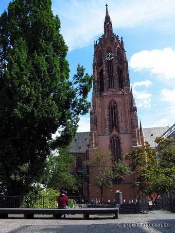 Catedral DOM Frankfurt Alemanha