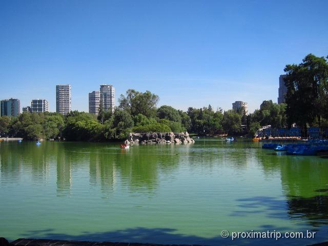 Lago do Bosque de Chapultepec - Cidade do México