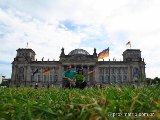 Parlamento Alemão (Reichstag): gramado