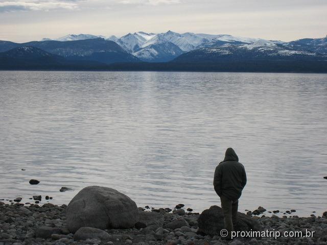 Lago Nahuel Huapi - Bariloche no inverno