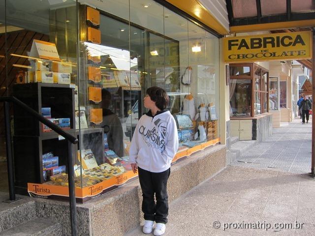 Dicas de sobremesa em Bariloche: Chocolates Del Turista