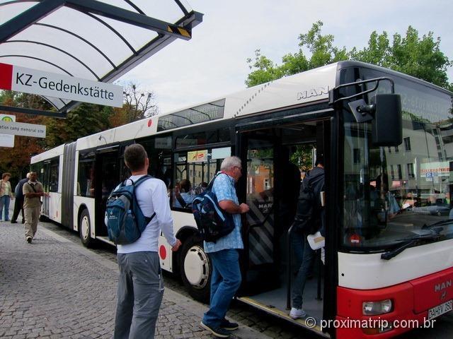 bus ônibus 726 KZ-Gedenkstätte Campo Concentração Dachau concentration camp