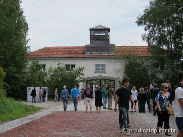 Dachau - entrada do campo de concentração