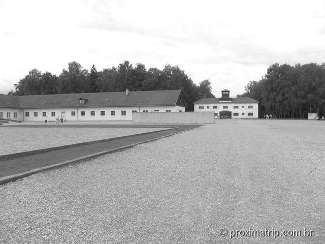interior do Campo de concentração de Dachau