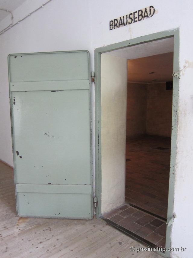 Dachau - a câmara de gás