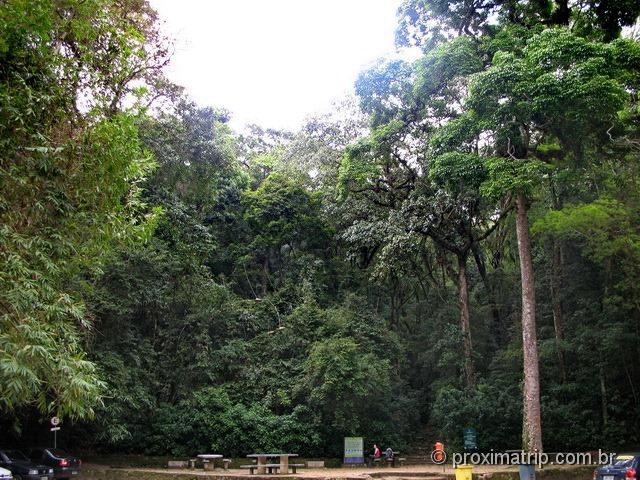 Bom Retiro: ponto de partida para a trilha do Pico da Tijuca