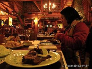 Dica onde comer Bariloche: El Patacon!