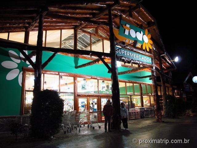 Dica de mercado em Bariloche: Todo supermercados!