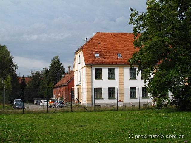 Dachau - o quartel general do comandante hoje commandant headquarters