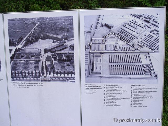 vista aérea de Dachau